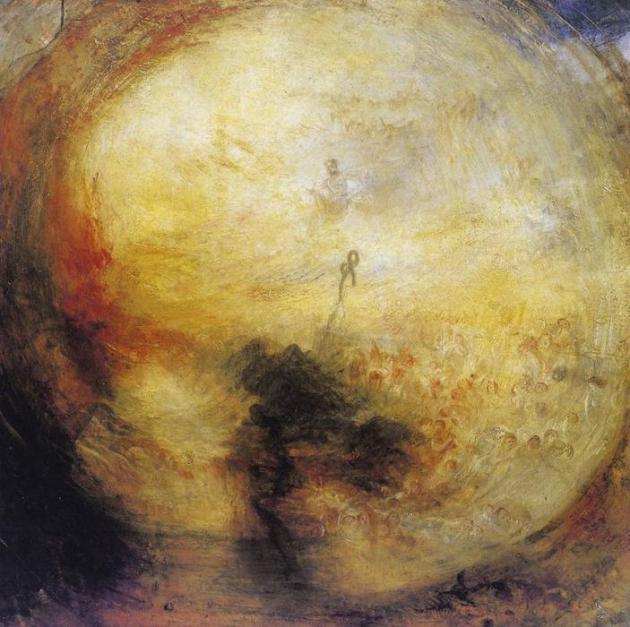 William Turner : Le matin après le déluge (1843)
