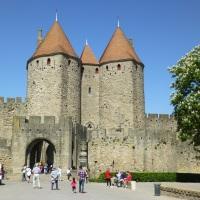 Carcassonne en anamorphose (1)