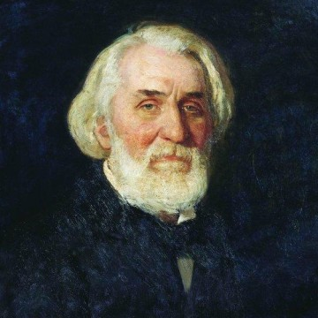 """Portrait d Ivan Tourgueniev"" Ilya Yefimovich Repin - 1879"