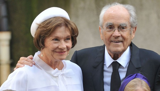 Macha Meril et Michel Legrand se marient - Paris