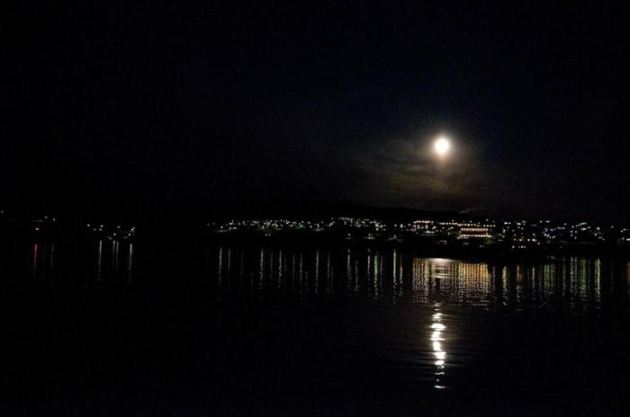 Nuit polaire sur Ilulissat